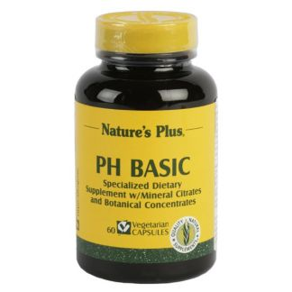 PH Basic Nature's Plus - 60 cápsulas