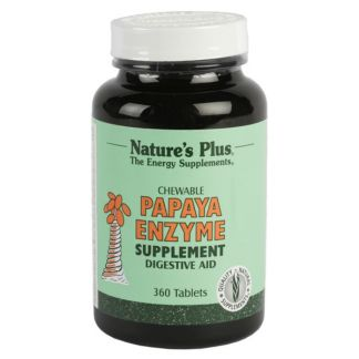 Papaya Enzyme Nature's Plus - 360 comprimidos