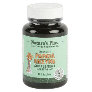 Papaya Enzyme Nature's Plus - 180 comprimidos
