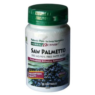 Palmito Salvaje (Saw Palmetto) Nature's Plus - 60 perlas
