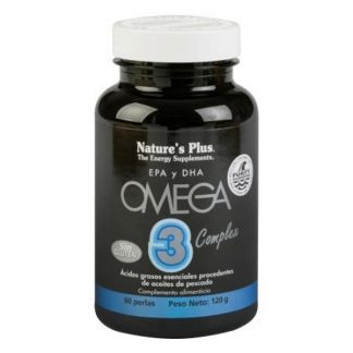 Omega 3 Complex Nature's Plus - 60 perlas