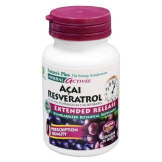 Açai-Resveratrol Nature's Plus - 30 comprimidos