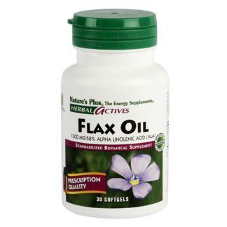 Aceite de Lino (Flax Oil) Nature's Plus - 30 perlas