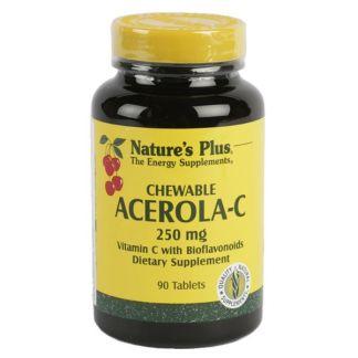 Acerola-C 250 mg. Nature's Plus - 90 comprimidos
