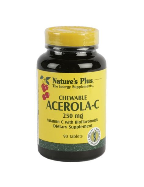 Acerola-C 250 mg. Nature's Plus - 90 comprimidos