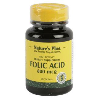 Ácido Fólico Nature's Plus - 90 comprimidos