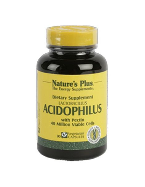 Acidophilus Nature's Plus - 90 cápsulas
