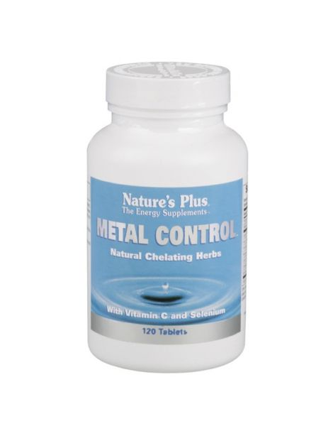 Metal Control Nature's Plus - 120 comprimidos