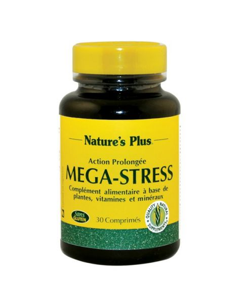 Mega Stress Nature's Plus - 30 comprimidos