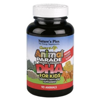 Animal Parade DHA Nature's Plus - 90 comprimidos