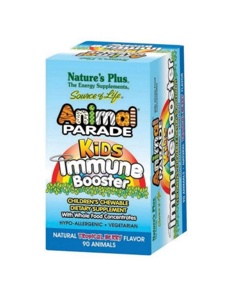 Animal Parade Kids Immune Booster Nature's Plus - 90 comprimidos