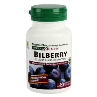 Arándano Azul (Bilberry) Nature's Plus - 60 capsulas