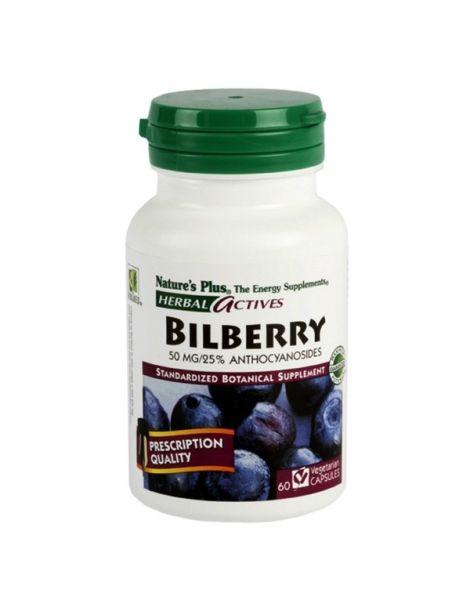 Arándano Azul (Bilberry) Nature's Plus - 60 capsulas