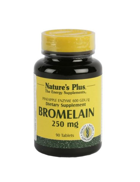 Bromelaína 250 mg. Nature's Plus - 90 comprimidos