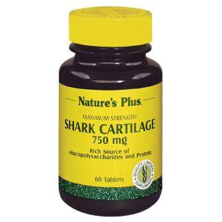 Cartílago de Tiburón Nature's Plus - 60 comprimidos