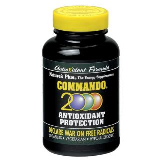 Commando 2000 Nature's Plus - 60 comprimidos