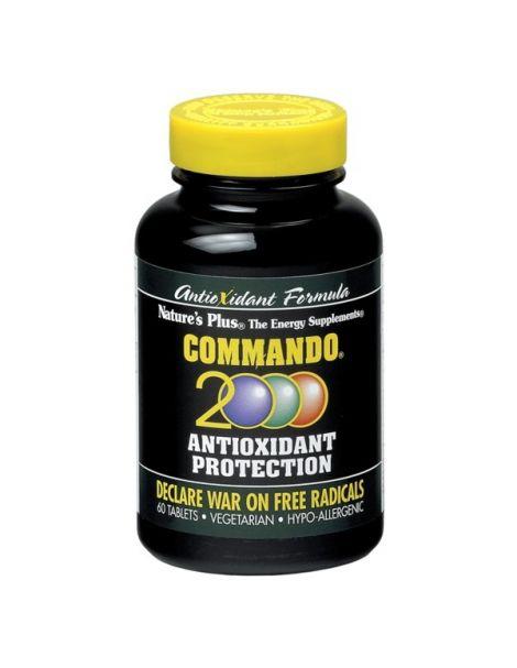 Commando 2000 Nature's Plus - 60 comprimidos