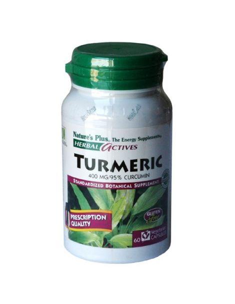 Cúrcuma (Turmeric) Nature's Plus - 60 cápsulas