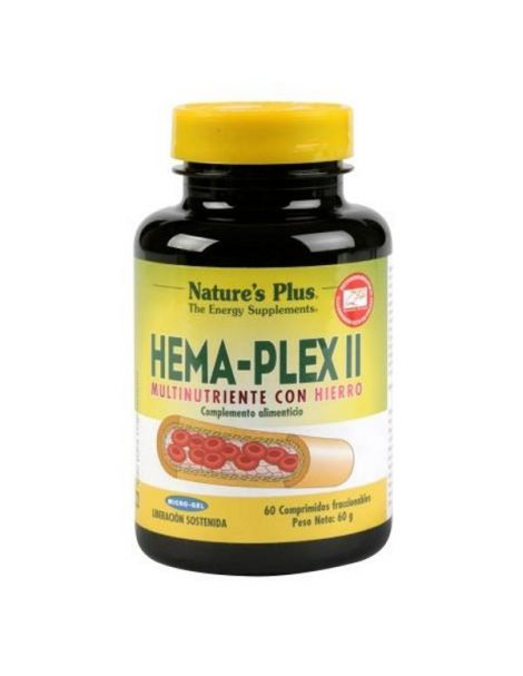 Hema-Plex II Nature's Plus - 60 comprimidos