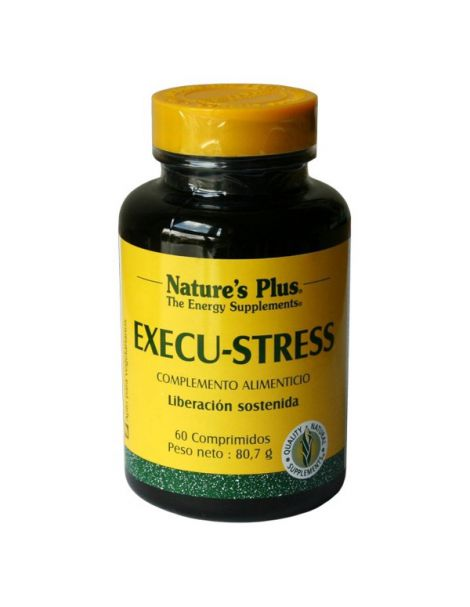 Execu-Stress Nature's Plus - 60 comprimidos