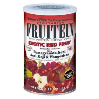 Fruitein Frutos Rojos Exóticos Nature's Plus - 576 gramos