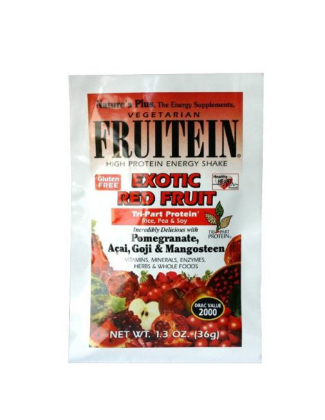 Fruitein Frutos Rojos Exóticos Nature's Plus - 36 gramos