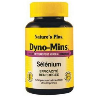Dyno-Mins Selenio Nature's Plus - 60 comprimidos