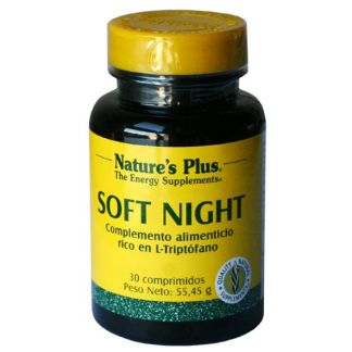 Soft Night Nature's Plus - 30 comprimidos