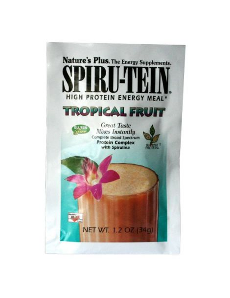 Spiru-Tein Frutas Tropicales Nature's Plus - 34 gramos