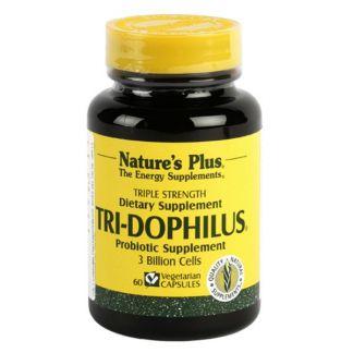Tri-Dophilus Nature's Plus - 60 cápsulas