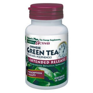 Té Verde Chino (Chinese Green Tea) Nature's Plus - 30 comprimidos