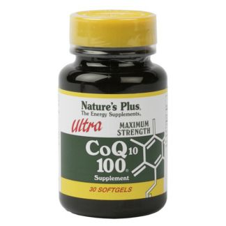 Ultra CoQ10 100 mg Nature's Plus - 30 perlas