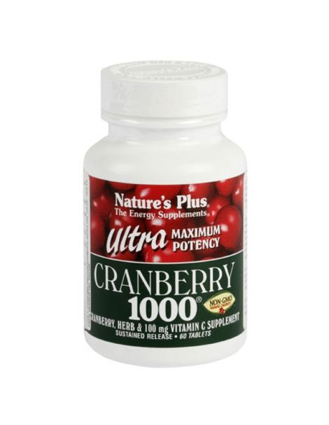 Ultra Cranberry 1000 (Arándano Rojo) Nature's Plus - 60 comprimidos