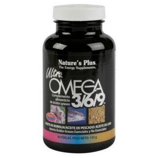 Ultra Omega 3/6/9  Nature's Plus - 90 perlas