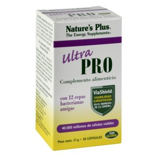 Ultra Pro (Probiótico) Nature's Plus - 30 cápsulas