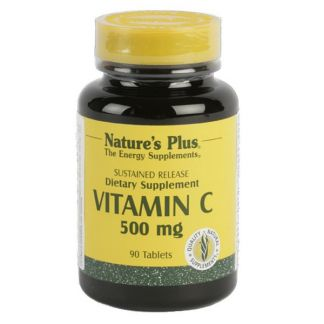 Vitamina C 500 mg Nature's Plus - 90 comprimidos