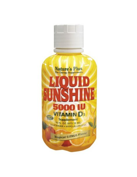 Vitamina D3 Liquid Sunshine Nature's Plus - 473,18 ml.