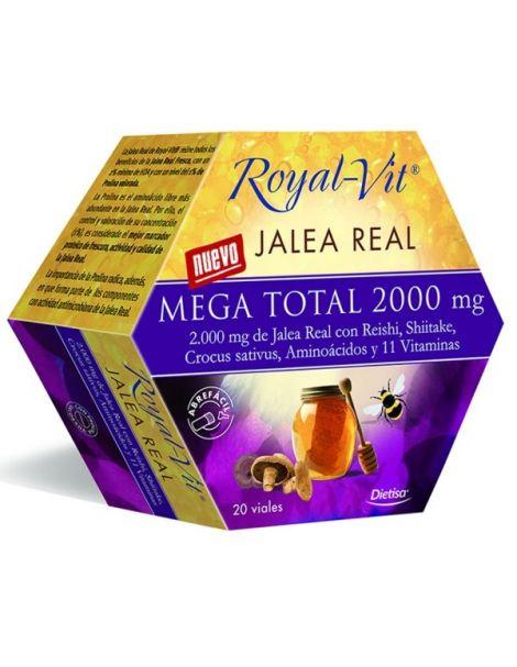 Jalea Real Mega Total 2000 mg. Dietisa - 20 viales