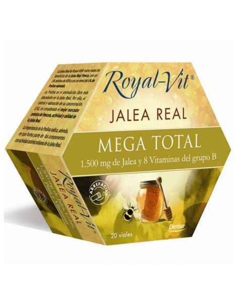 Jalea Real Mega Total Dietisa - 20 viales
