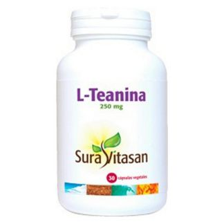 L-Teanina 250 mg. Sura Vitasan - 30 cápsulas