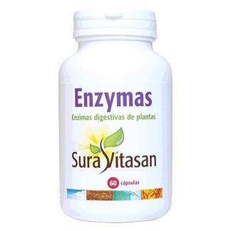 Enzymas Vegetales Sura Vitasan - 60 cápsulas