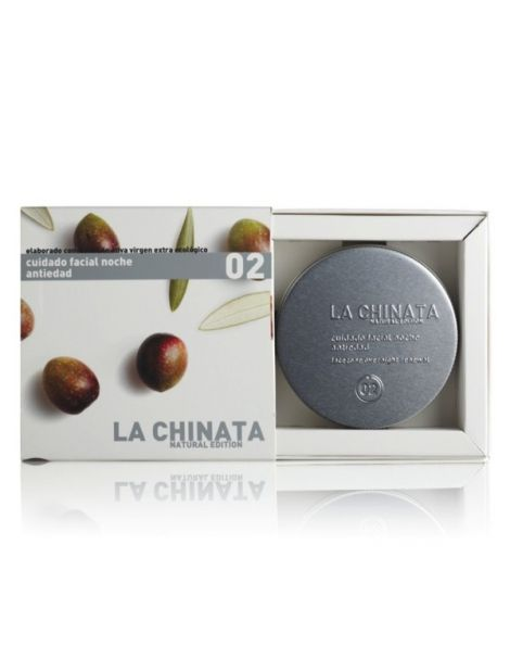 Cuidado Facial Noche Antiedad Natural Edition La Chinata - 75 ml.