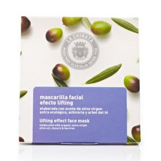 Mascarilla Facial Efecto Lifting Natural Edition La Chinata - 5 x 8 ml.