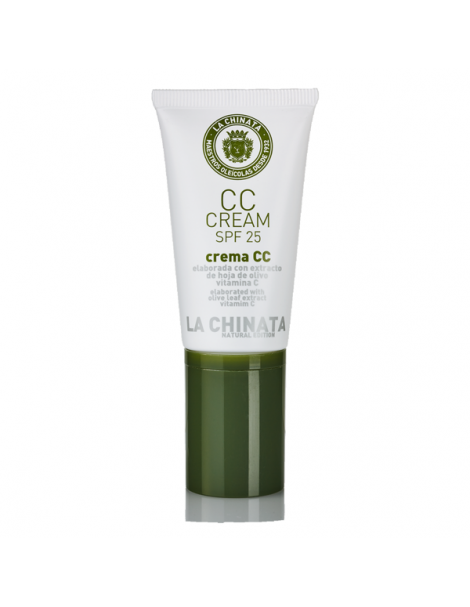 CC Cream SPF 25 Natural Edition La Chinata - 30 ml.