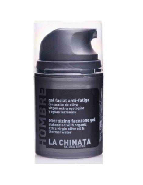 Gel Facial Anti-Fatiga Hombre Natural Edition La Chinata - 50 ml.