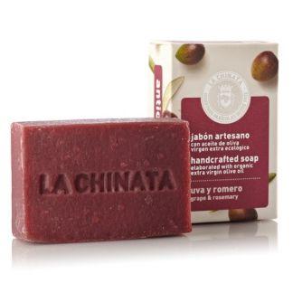 Jabón Artesano Antioxidante de Uva y Romero Natural Edition La Chinata - 100 gramos