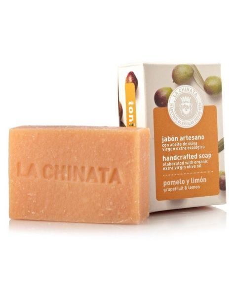 Jabón Artesano Tonificante de Pomelo y Limón Natural Edition La Chinata - 100 gramos