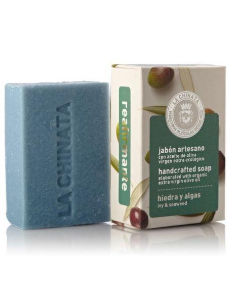 Jabón Artesano Reafirmante de Hiedra y Algas Natural Edition La Chinata - 100 gramos