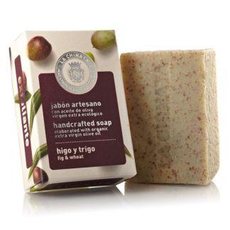 Jabón Artesano Exfoliante de Higo y Trigo Natural Edition La Chinata - 100 gramos