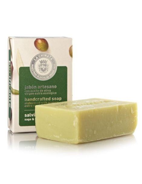 Jabón Artesano Purificante de Limoncillo y Salvia Natural Edition La Chinata - 100 gramos